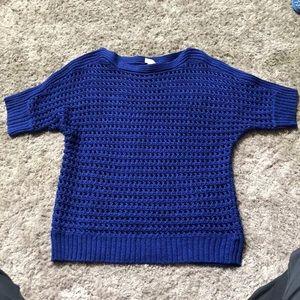 Chico's short sleeve sweater